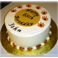 Fall Birthday Cake Gallery On Central