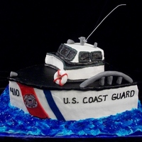 Coast Guard Grooms Cake