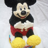 3-D Mickey Mouse