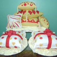 Pillow Cases Wedding cake