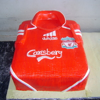 Birthday Cake LIVERPOOL T-SHIRT