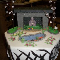 Japanese Tea Garden I made this cake for the local fair. It won second place, which I'm proud of since it was only my sixth cake i've ever made, The...