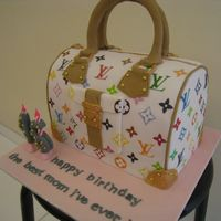 Louis Vuitton Speedy 30 Monogram Multicolore Cake