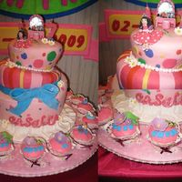 A Peek Inside A Girl's Bedroom Topsy Turvy Cake This cake was made early this year for my cousin's 17th bday. A topsy turvy with 17 cupcakes decorated with girly things. Design and...