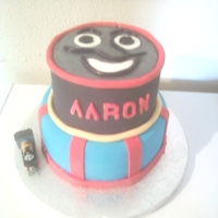 Aaron's Thomas The Train 3Rd Birthday Cake