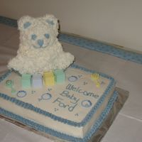 Baby Ethan's Shower Cake
