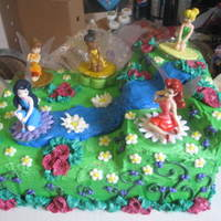 Fairy's This was a fairy cake, that was done for an order....TFL