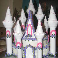 Castle Cake This is my version on the castle cake kit...TFL
