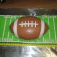 Football This was done for the football teams year end party