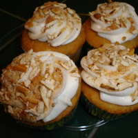 Valley Cupcakes Beer flavored cupcakes with white chocolate buttercream topped with salted with crushed peanuts and pretzels
