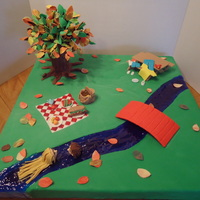 A Day At The Park I made this cake for both the AZ cake show in Glendale in Feb and then for the Pima county fair. Wanted to make a tree, and this is I came...