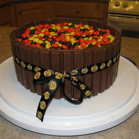 Candy Barrell Cake