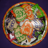 Halloween Sugar Cookies I prepared these simple Halloween nfsc with antonia74 royal icing. I only fixed 2 plates for 2 special people who work at a pharmacy. When...