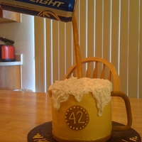 Beer Mug   Thanks for everybody in cake central who posted a cake similar to this one. I wouldn't have been able to do it without you. Thanks.