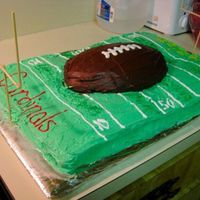 Super Bowl 2009 This cake my sister and I just threw together with whatever we had in the house. GO STEELERS!