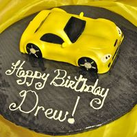 Yellow Corvette My 6 year olds request for a Bday cake. I haven't done a cake in 4 months and it's been al-o-n-g time since I've done a...