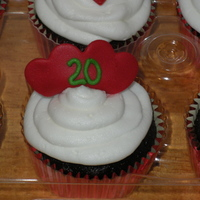20Th Anniversary Cupcakes