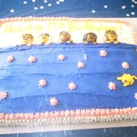 Slumber Party Birthday Cake   I used large marshmellows for the pillows and icing for everything else.