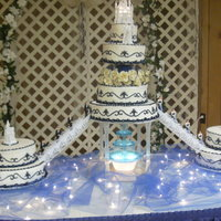 Fairy-Tale Castle Cake This cake is a fairy-tale cake come true for a special bride. Who was a princess for a day.