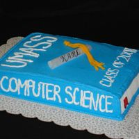 Computer Science Book I got the insperation for this cake from all the AMAZING cakes here on CC. Thanks everyone for posting yours!!