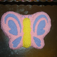 Butterfly And Rose Cupcakes This is a butterfly cake and 40 rose cupcakes I did for a babyshower.