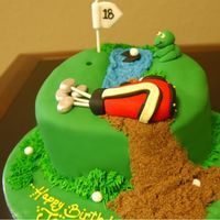 Jason's Golf Cake I made this cake from a design I found when I googled Golf Cake, one of my bosses friends son's loves golf and she wanted a cake for...