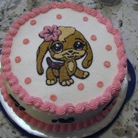 "Littlest Pet Shop My daughter wanted this ""littlest pet shop dog"" on her birthday cake this year."