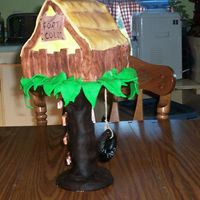 Tree House   my early pics have disappeared so I'm trying again