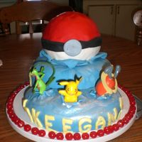 Pokemon B Day Cake