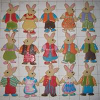 Bunnies All Dressed Up  I bought these cutters from Karen at Victor Trading Company when we visited on our vacation last summer. I was able to watch her create...