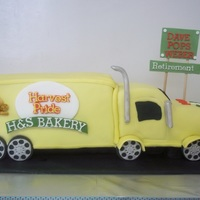 Delivery Truck Cake