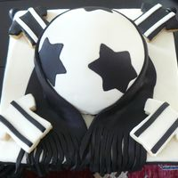 Ball Cake I made this cake for my nephew's birthday too. I had made the pirate ship cake for him but when I heard that he is crazy for the &#039...