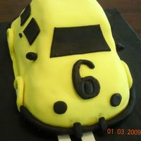 Car Cake This is my first time sugarpaste cake...Its been made for my lovely nephew who is crazy for cars...