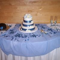 My Son's Wedding Cake And Groom's Cake First of all, thank you to all of you for giving me the confidence and knowledge to make these cakes for my son and daughter-in-law. After...