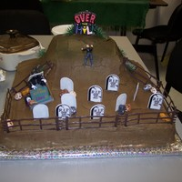 Over The Hill Mans 50Th Birthday - Relax I'm Just Here For The Cake I made this for a friends father inlaws 50th birthday, They wanted an over the hill theme, I really like this idea, I did pretty much a...