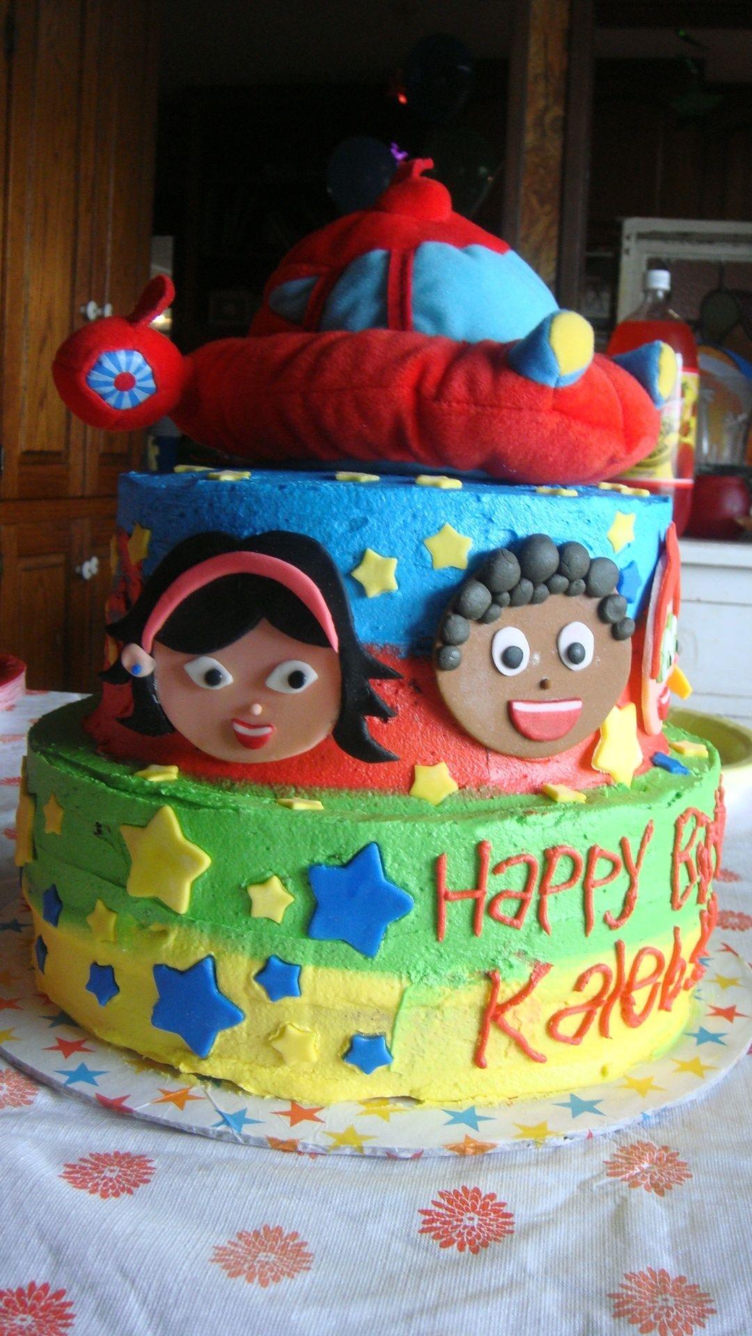 Little Einsteins Birthday Cake Cake Gallery On Cake Central