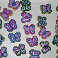Small Butterfly Cookies