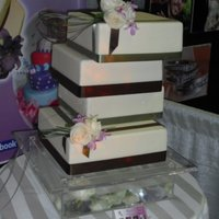 Something Different ! Bride and groom , ask for a non traditional wedding cake.
