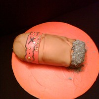 Cigar A cigar cake made for a birthday. I had lots of help with the forums for the ash part, which is royal icing. The rest of the cigar is made...