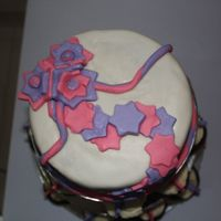 First Cake Order  This is my first order. This has been the second time I used fondant. It's not as smooth as I want to but considering how...