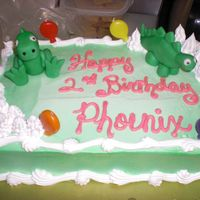 Dave_014.jpg Gumpaste dinosaurs for Phoenix's second birthday