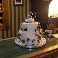 Bullock Wedding Cake Made for the Historic Bullock Hotel's new comercial for their wedding services. Marshmallo fondant. The crew shot the comercial and...