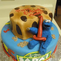 Cookie Monster 1St B-Day