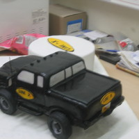 Truck Cake   Everything is cake except for the tires made of RKTThis was fun to make! ..and stressful too!