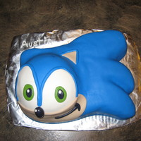 Sonic Cake For a coworker's son's 8th birthday.