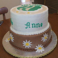 Girl Scout Bridging Cake