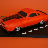Dodge Challenger Car Cake Dodge Challenger Car Cake