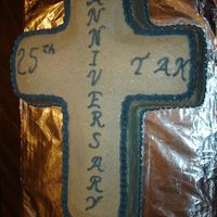 Christian Cake A church affair and they wanted a butter cake with buttercream icing.