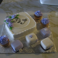 Taste Test Samples These were for a wedding taste test and meeting for a wedding cake