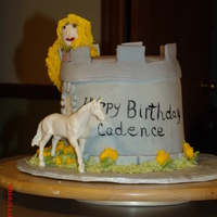 Tangled B-Day Cake Made this cake for my granddaughter.